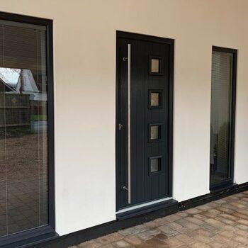 Black Front Doors Portsmouth UK