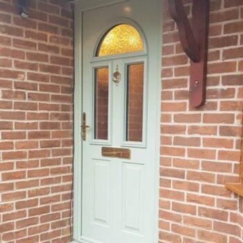 Green Front Doors Hampshire
